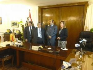 توقيع بروتوكول أول بورصة سلعية بمصر والشرق الأوسط1