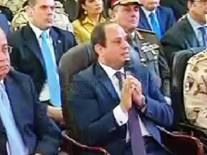 الرئيس السيسى يفتتح كوبري الصدر بمدينة الزقازيق