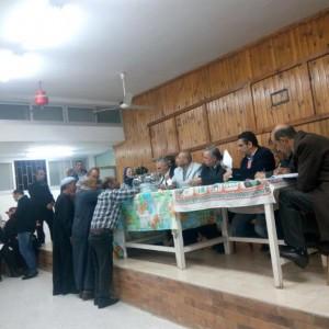 محافظة الإسماعيلية تجري قرعة لتوزيع الشقق على أقباط العهريش المهجرين1