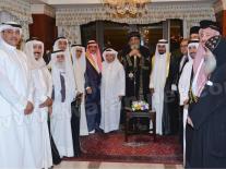 خلال حفل عشاء البابا تواضروس: سأذكر الكويت…