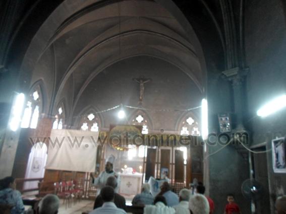 كنيسة  محترقة - السويس (1)