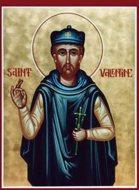 القدِّيس فالنتينو الشهيد شفيع المحبين