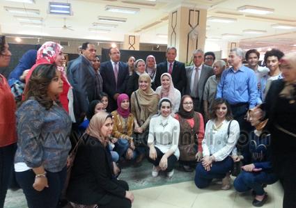 معرض طلاب الفنون الجميلة بجامعة المنصورة  (2)