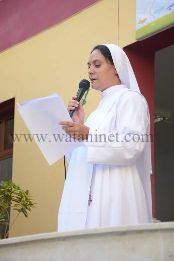 مدرسة الراهبات الفرانسيسكانيات ببني سويف تحتفل بالعيد الاول لتعميرها 4
