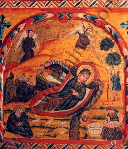 ايقونة أثرية من كنيسة أبوسرجة بمصر القديمة