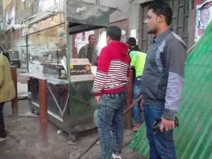 حملة لرفع الإشغالات بشوارع عين شمس0 - Copy