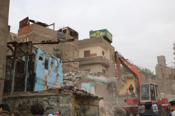 محافظ القاهرة يتفقد إزالات2