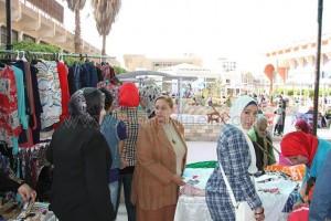 «العمل الحر تنمية وإبداع» معرض للفتيات برعاية القومى للمرأة بالشرقية1