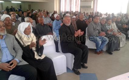تكريم 80 من العاملين المحالين للمعاش بشركة مياه الفيوم (3)