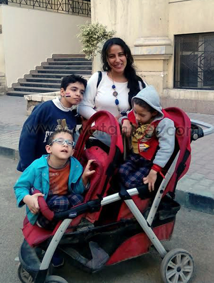 جمعية الأنبا أنطونيوس لذوي الإحتياجات الخاصة اليوم إحتفالاً بمناسبة عيد الأم (1)