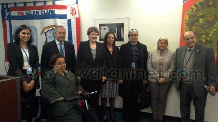 الوفد المصرى الرسمى- يلتقى مع مدير برنامج الأمم المتحدة الانمائى