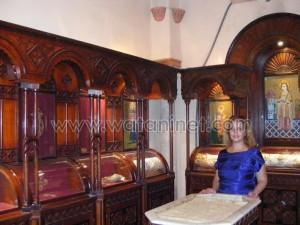 كنيسة القديسة بربارة الاثرية بمصر القديمة26
