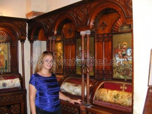 كنيسة القديسة بربارة الاثرية بمصر القديمة28