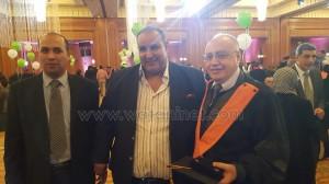 الأكاديمية العربية تحتفل بالحاصلين علي الماجستير