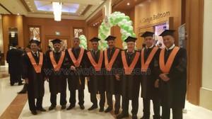 الأكاديمية العربية تحتفل بالحاصلين علي الماجستير2