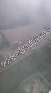 العناية الألهية تنقذ اعضاء الكشافة من الحريق بكنيسة مارمينا3
