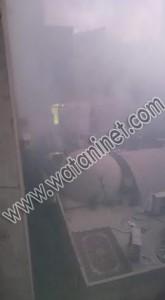 العناية الألهية تنقذ اعضاء الكشافة من الحريق بكنيسة مارمينا5
