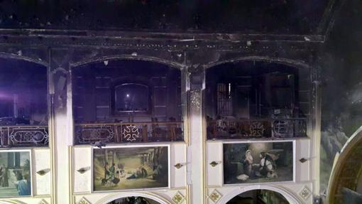 حريق كنيسة مارمينا (2)