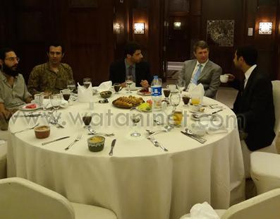 حفل أفطاربالقنصلية الأمريكية بالإسكندرية  (3)