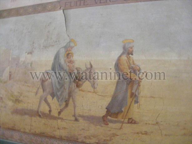 رقم  19  لوحة العائلة المقدسة  للفنان رينوار copy
