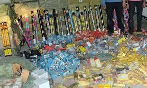 ضبط العديد من قضايا الإتجار في الألعاب النارية