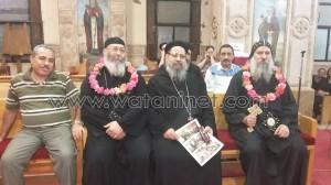 العذراء المليحة تحتفل بعيد رسامة الأنبا ماركوس والقس لوقا لبيب2