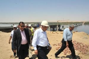 وزير النقل يتفقد الوحدات النهرية بهيئة وادي النيل للملاحة