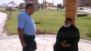 كاهن كنيسة بنبان بأسوان يشارك في احتفالات انتصارات اكتوبر بمتحف النيل3