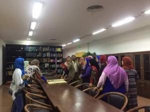 متحف النيل بأسوان يستقبل 219 من عضوات
