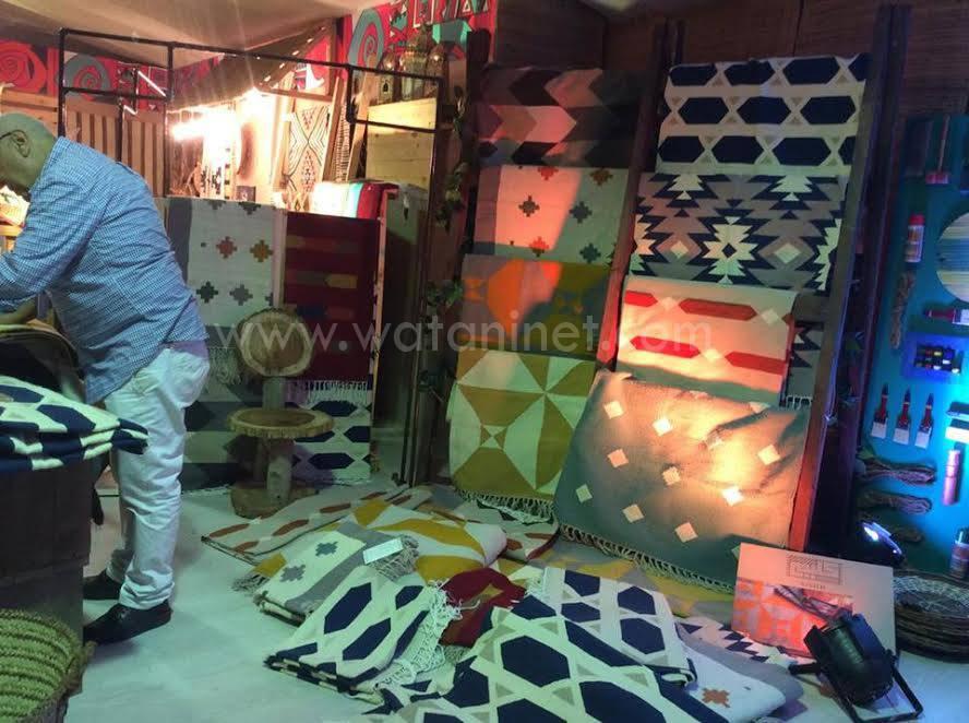 وطني فى جولة بمعرض الصناعات اليدوية الدولي الأول بمصر (3)