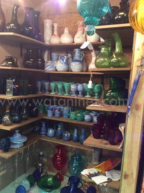 وطني فى جولة بمعرض الصناعات اليدوية الدولي الأول بمصر (4)