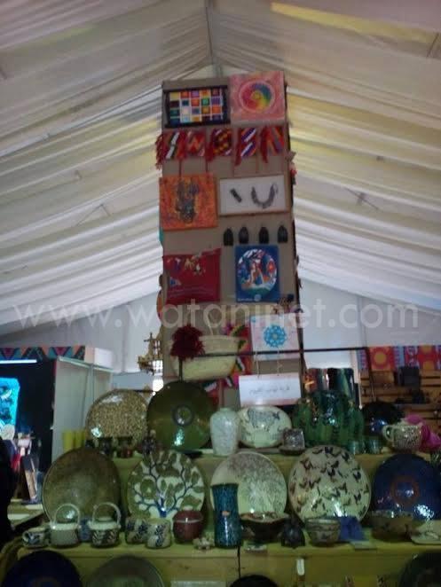 وطني فى جولة بمعرض الصناعات اليدوية الدولي الأول بمصر (5)