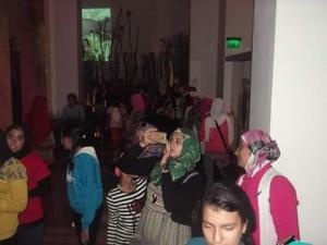 322 فتاة من محافظات مصر بمتحف النيل بأسوان