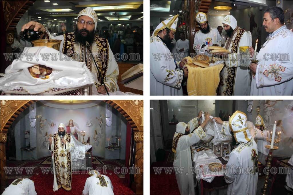 كنيسة العذراء والقديس أثناسيوس تقيم قداساً تذكارياً بانعقاد مجمع نيقية المسكوني الأول