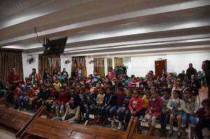 الأنبا دوماديوس يشهد حفل ختام مهرجان الكرازة بـ6 اكتوبر1