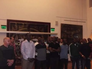 متحف النيل بأسوان يستقبل ضباط  القوات المسلحة من الدول الأفريقية1