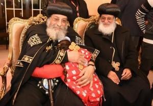 البابا تواضروس يشهد كرنفال الأطفال الأيتام بنادي آمون
