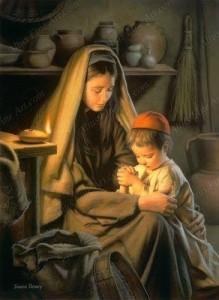 في عيد الأم لقطات من حياة أم النور وطفلها10