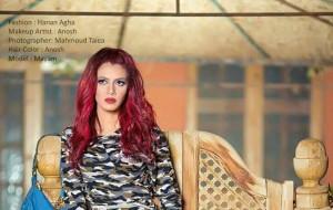 الرموش الكثيفة والأشقر الروزي موضة مكياج و ألوان شعر 20171