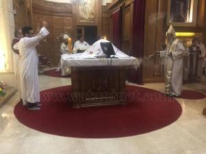 كنيسة العذراء وماريوحنا بباب اللوق تصلي ليلة ابو غلمسيس1
