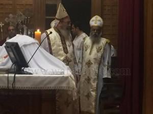 كنيسة العذراء وماريوحنا بباب اللوق تصلي ليلة ابو غلمسيس10