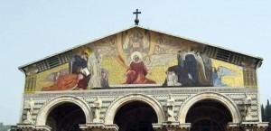 مع المسيح في طريق الآلام في بازيليكا النزاع5
