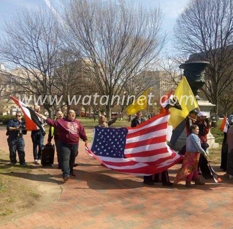 """111""""الإرهابية"""" تنظم مسيرة ضد """"السيسي"""" في أمريكا"""
